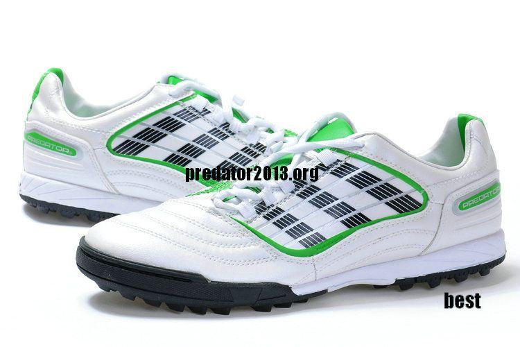 Adidas Predator XI TF 2012 Beckham Soccer Cleats White Black Green Beckham  Soccer Shoes  52.66 17089bf644