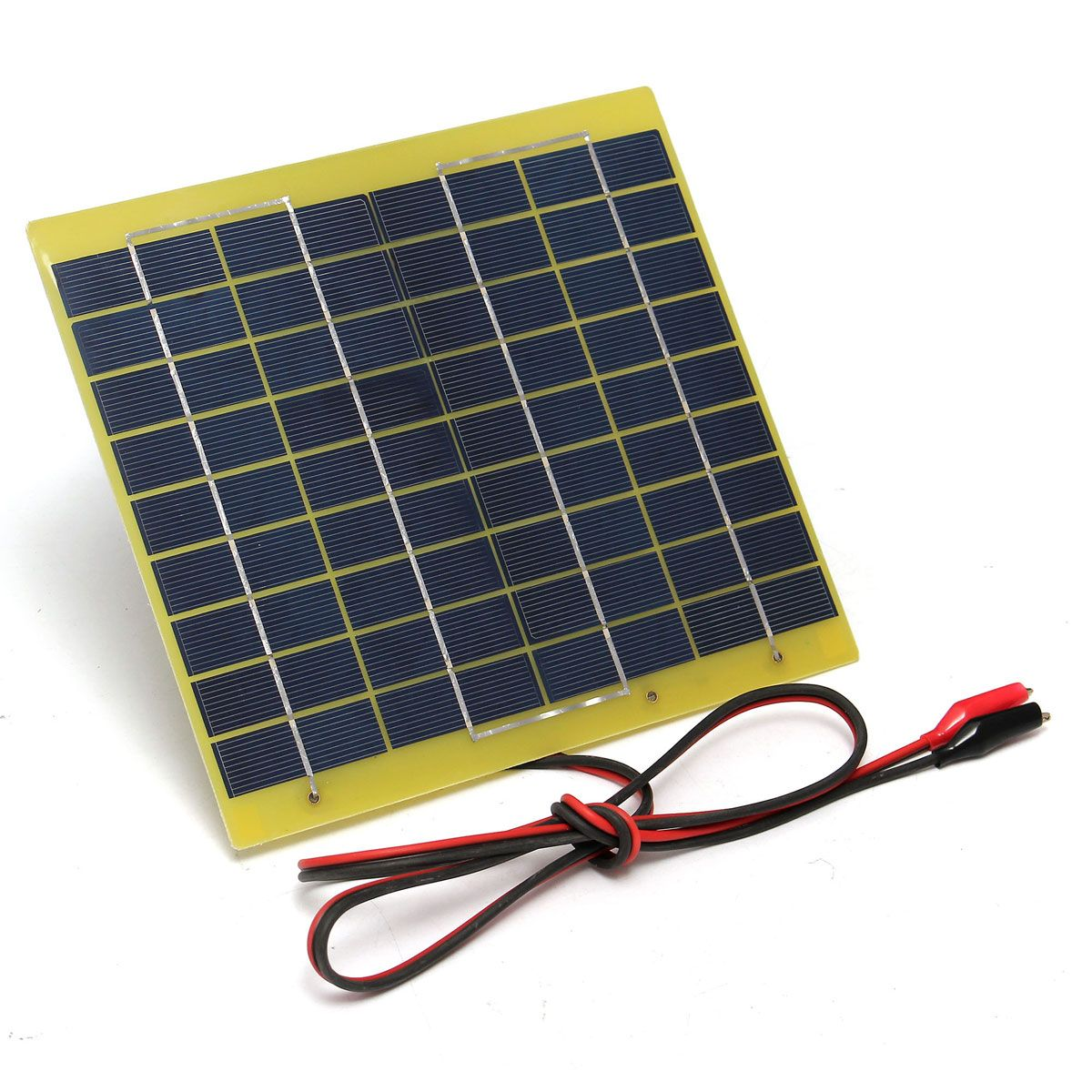 High Conversion Rate 5w Solar Panel For 12v Solar Battery Solar Battery Solar Panels Robot Chassis