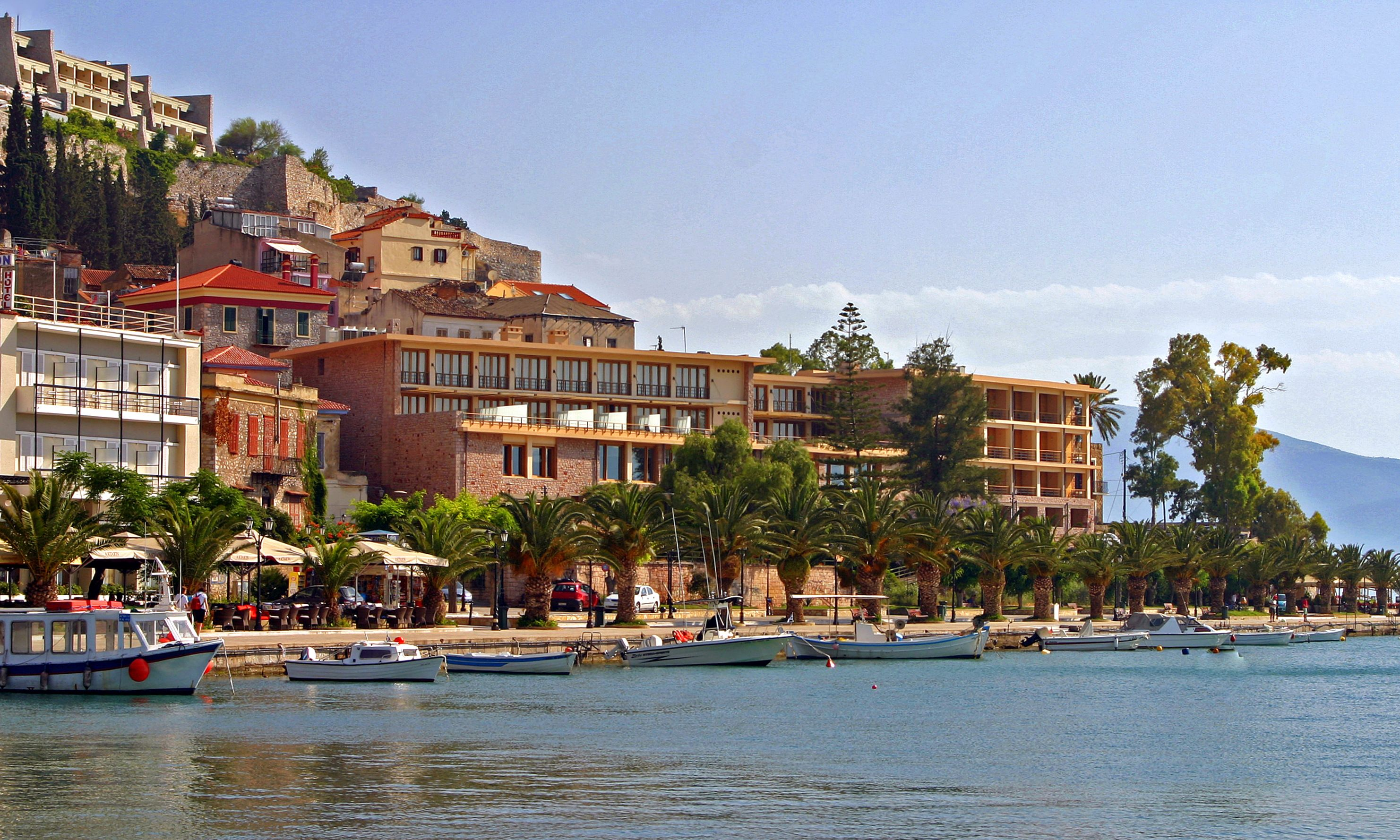 Nafplio, Greece (on the Argolic Gulf, Peloponnese)