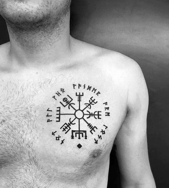 Top 71 Viking Compass Tattoo Ideas 2020 Inspiration Guide Viking Compass Tattoo Compass Tattoo Viking Tattoos