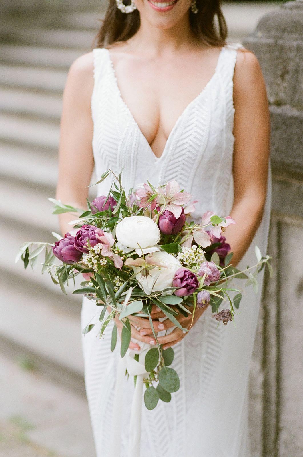 Modern Minimal Chic Gowns Designed By Chicago Wedding Dress