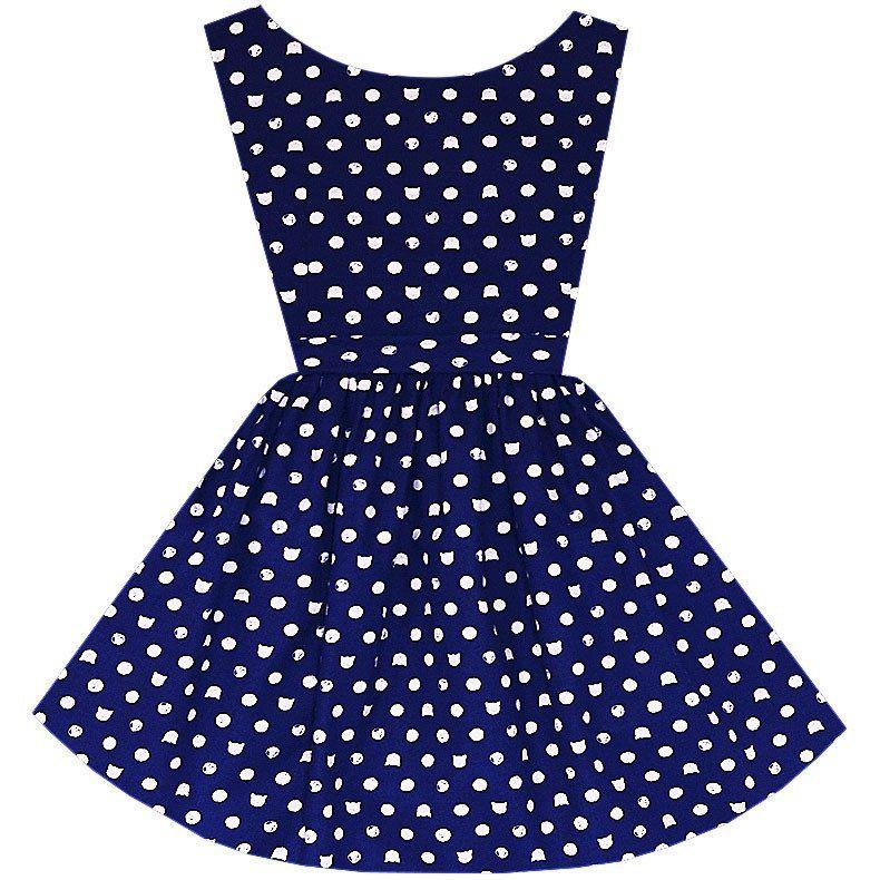 Kitty Dot Hepburn Dress