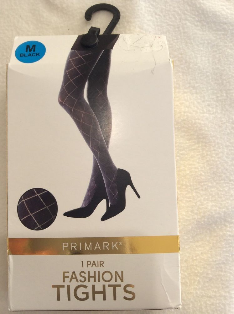 ac9477a6836 FASHION BLACK TIGHTS WITH STRIPE DESIGN SIZE M FROM PRIMARK  fashion   clothing  shoes  accessories  womensclothing  hosierysocks (ebay link)