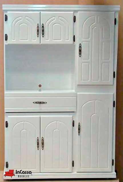 Alacena para microondas mod sevilla medidas largo alto fondo 40cm - Muebles cocina sevilla ...