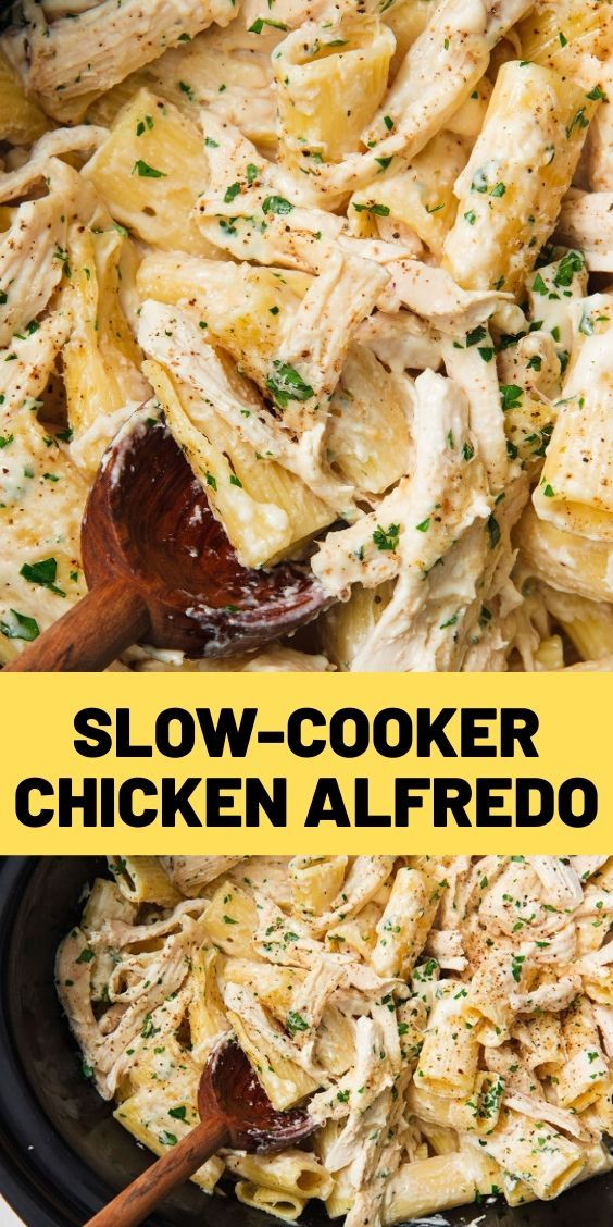 Slow-Cooker Chicken Alfredo