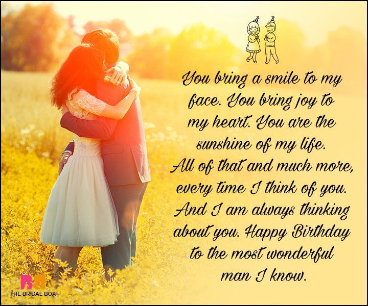 Birthday Love Quotes For Him The Special Man In Your Life Love