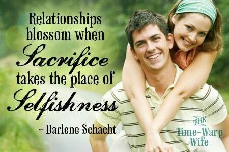 Selfishness and dating