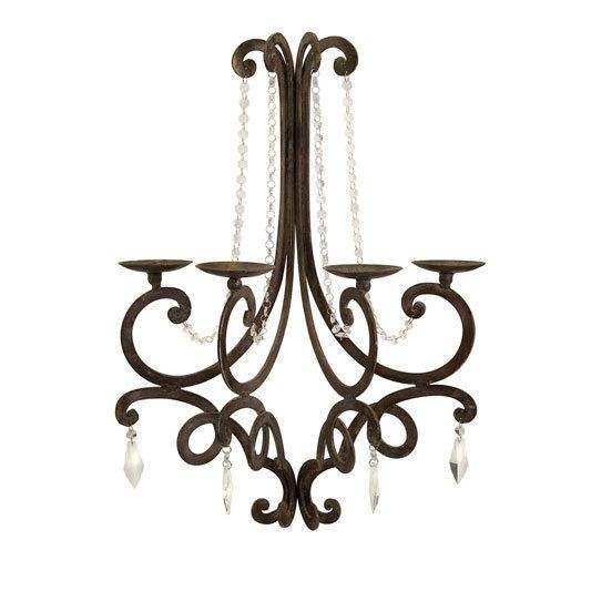 Chandelier Wall Sconce I Bought For The Wall Above My Tub Candle Wall Sconces Wall Candles Candle Chandelier