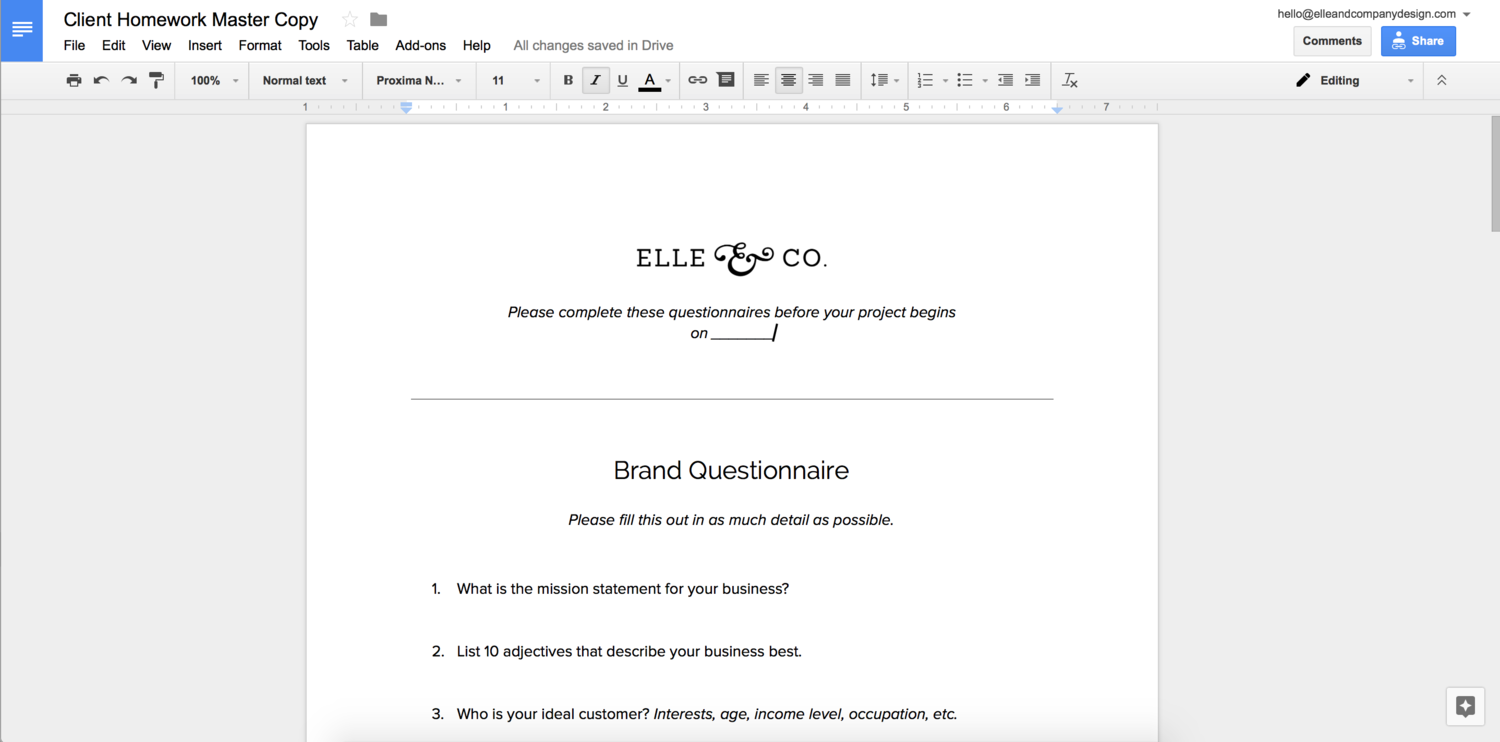 12 Google Doc Templates to Make Your Business More