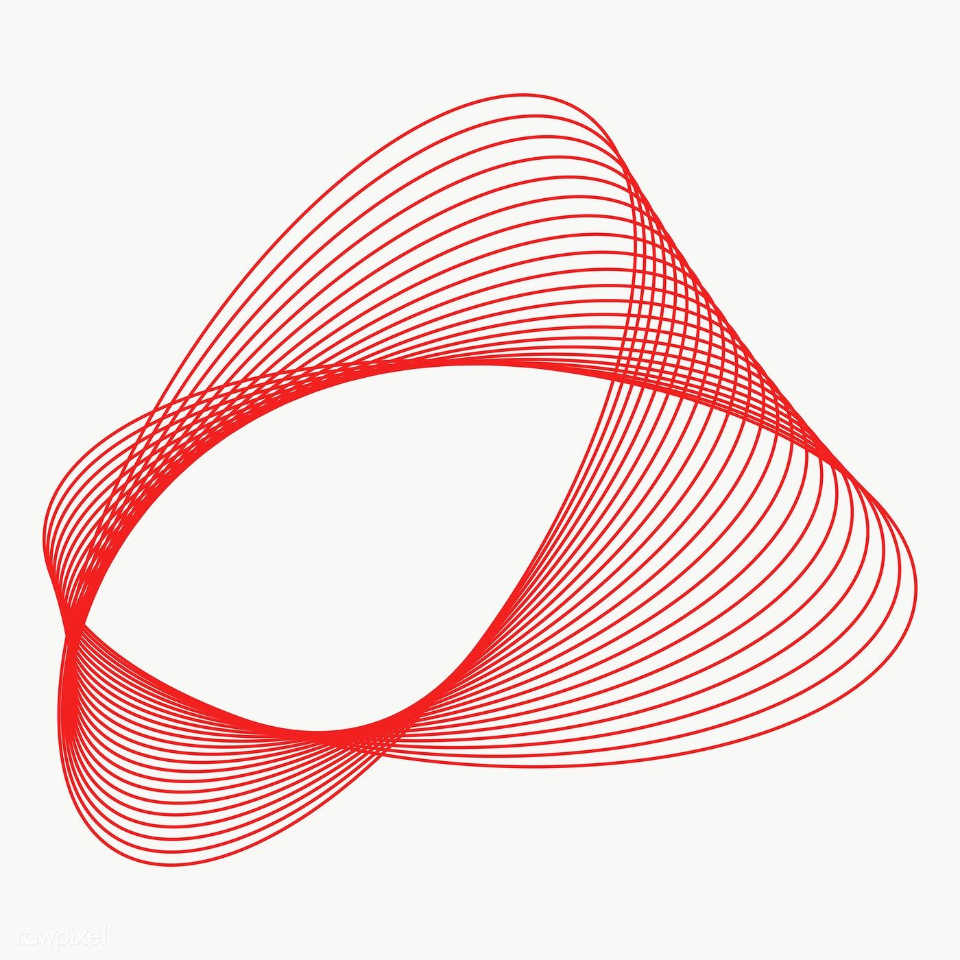 Download Premium Png Of 3d Abstract Red Shape Transparent Png
