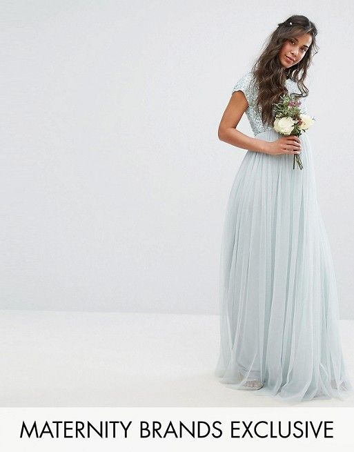 ea5e762c51e16 Maternity Maxi | Future Family | Maternity dresses, Dresses ...