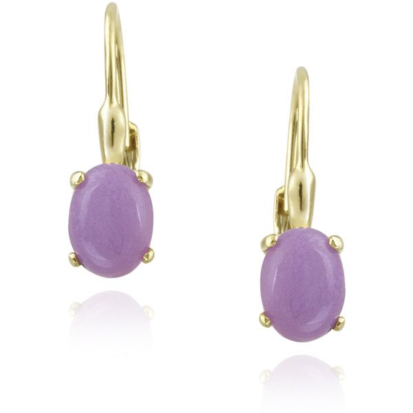 mint earrings purple lavender gold product and danbury jade lovely