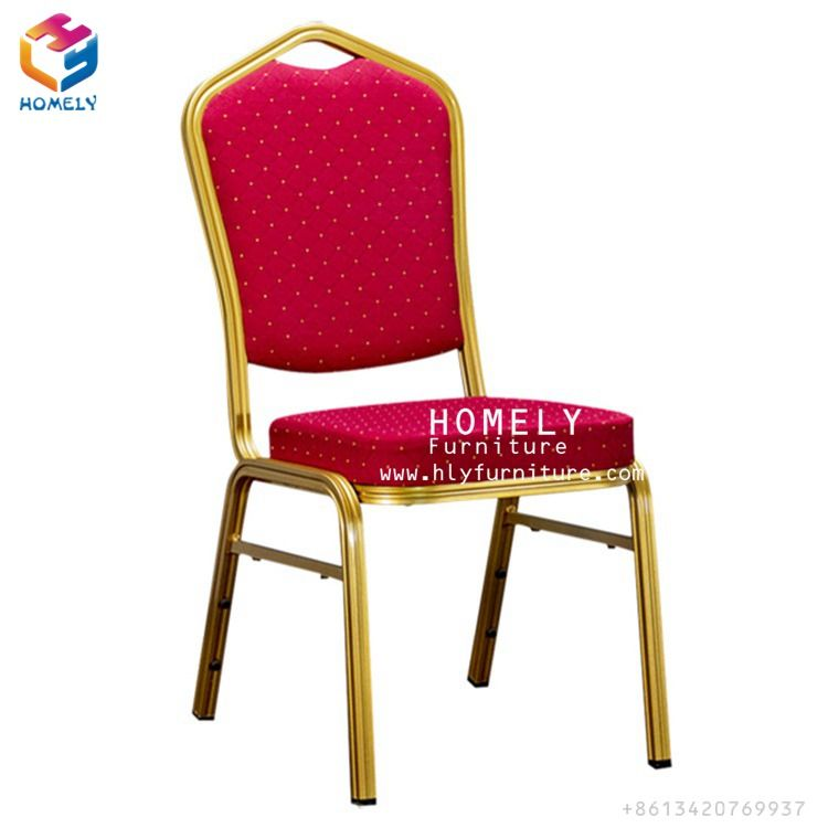 China Wholesale Cheap Used Fancy Luxury Stackable Rental Gold