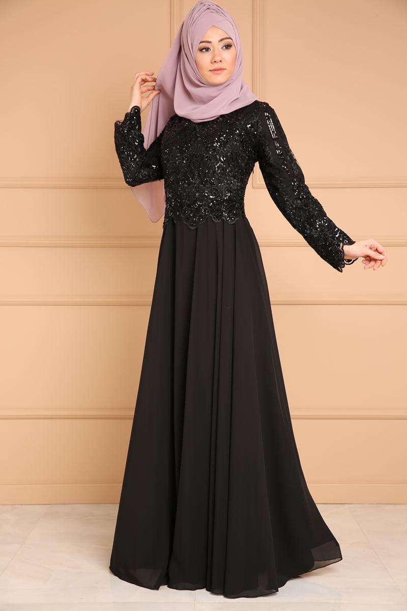 3e6c830eb34be Tesettür abiye elbise modelleri ve abiye elbise fiyatlarında en uygun şık  tasarımlar Moda Selvim modanın yeni adresinde.