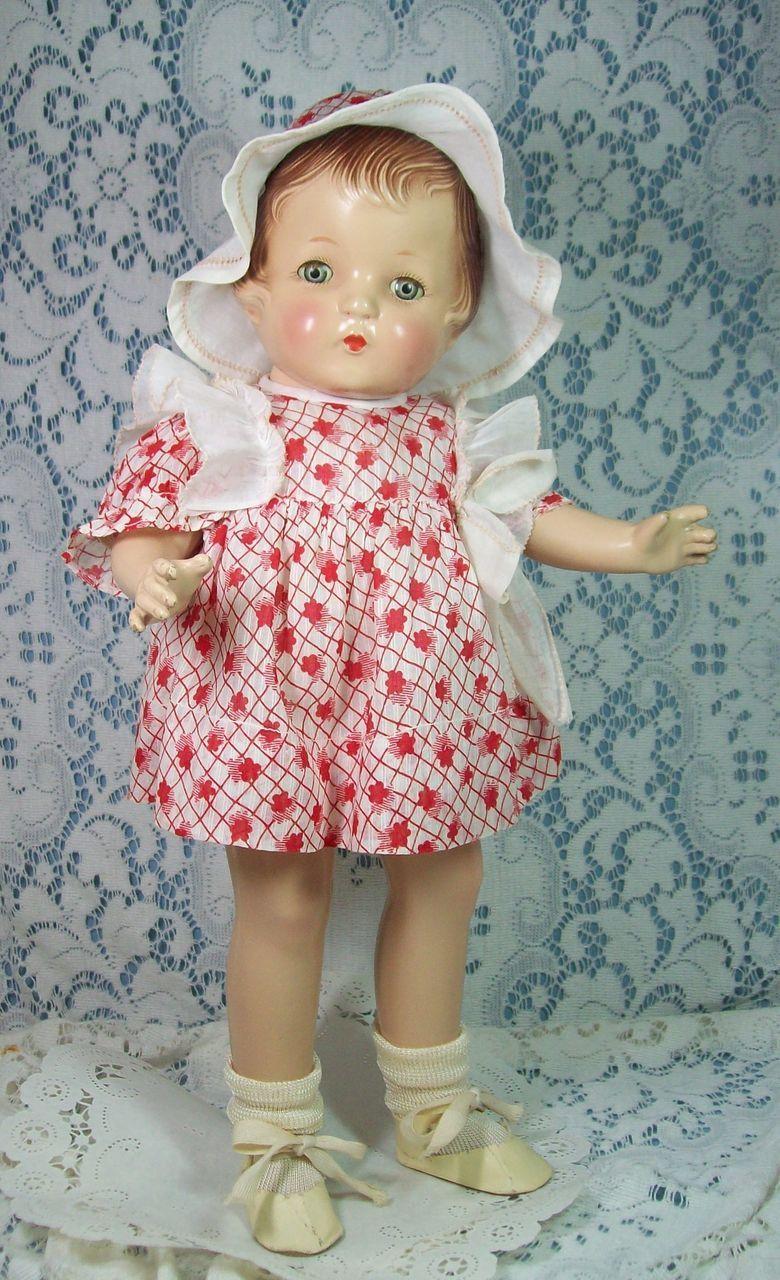 "Gorgeous Composition Doll by Horsman ""Jane"" - All Original"
