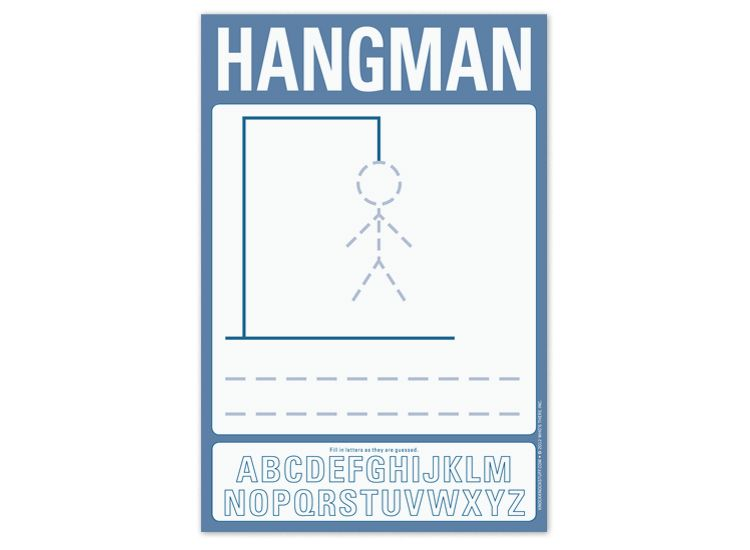 Hangman Printables Pinterest Kid activities and Summer crafts - tic tac toe template