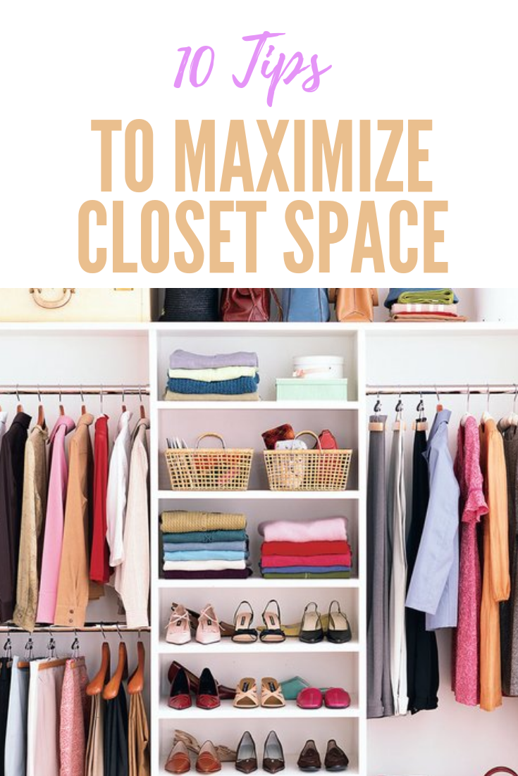 How To Maximize Your Closet Space Small Closet Space Maximize