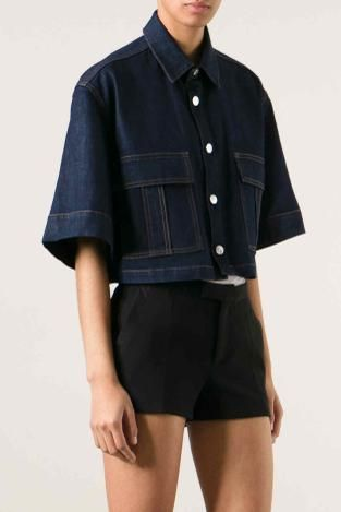 Women's denim jacket: S/S 15 commercial update