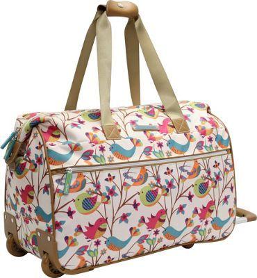 Lily Bloom Tweety Twig Wheeled Weekender Tweety Twig - via eBags.com!