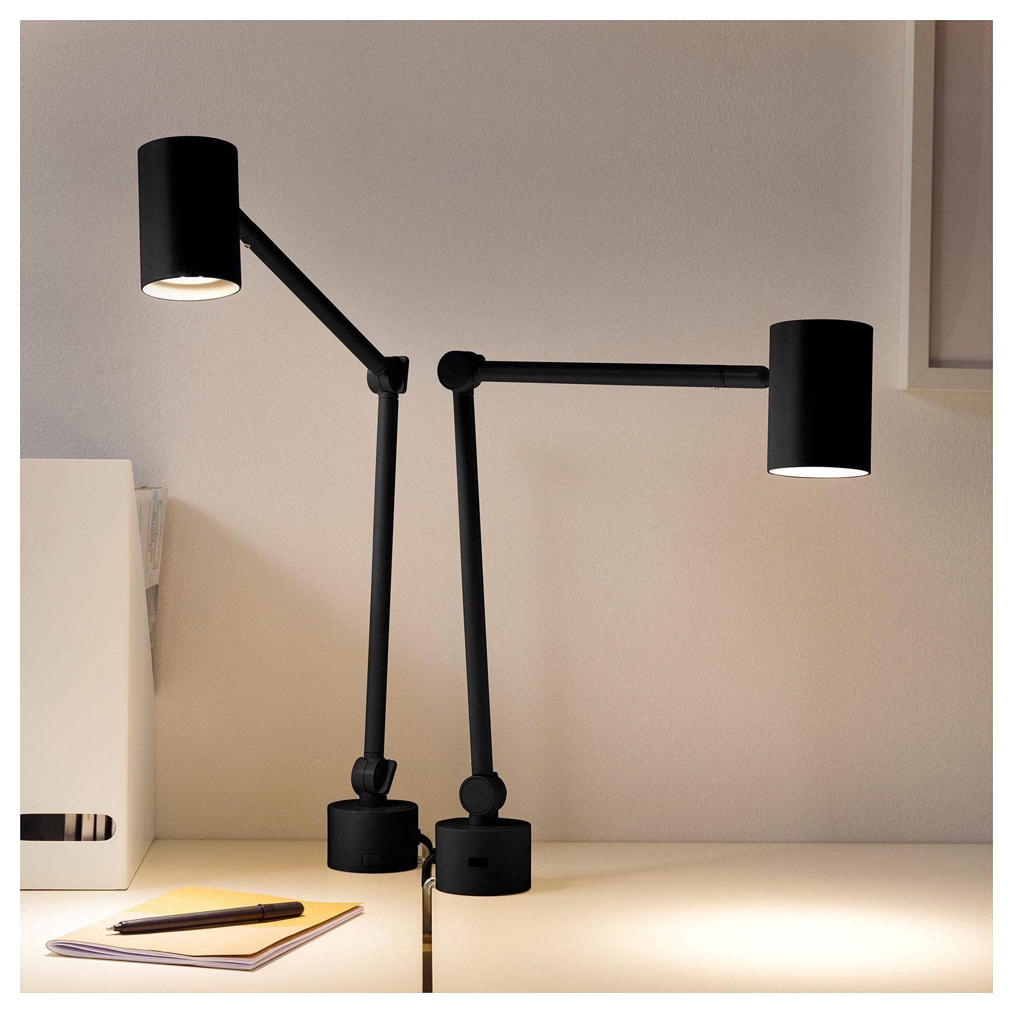 Nymane Arbeits Wandleuchte Anthrazit Ikea Osterreich Wandlampe Lampe Wandleuchte
