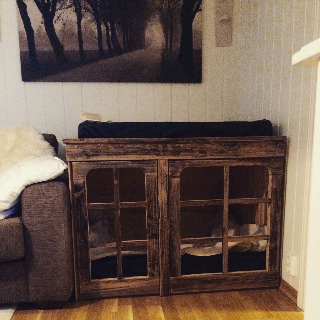 Our dogcrate Clever Crafts Pinterest Crafts