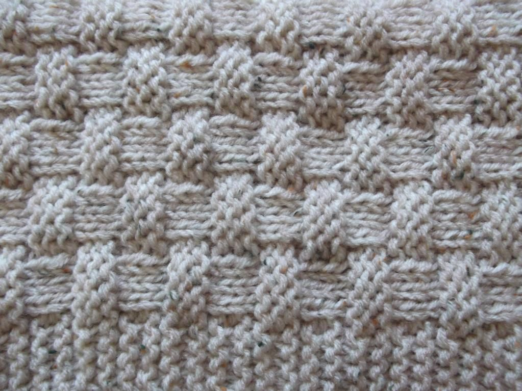 Quick And Easy Basket Weave Baby Blanket Via Craftsy Knit And