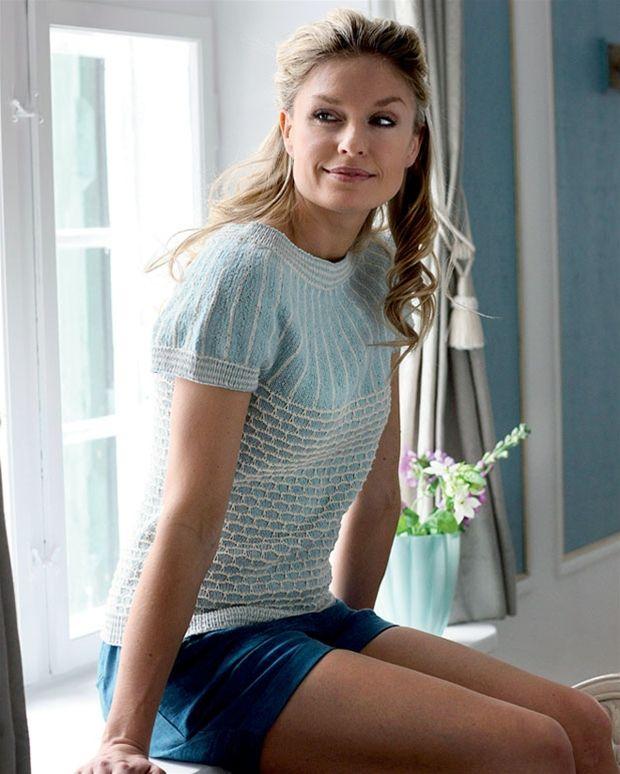 Photo of Smuk top med bikubemønster – Hendes Verden