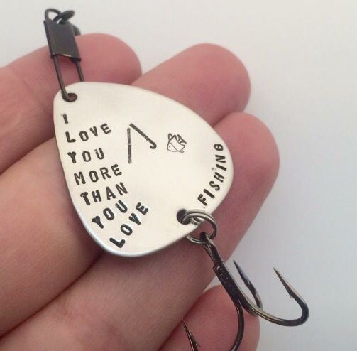 Christmas Ideas For Husband: I Love You More Than You Love Fishing Lure