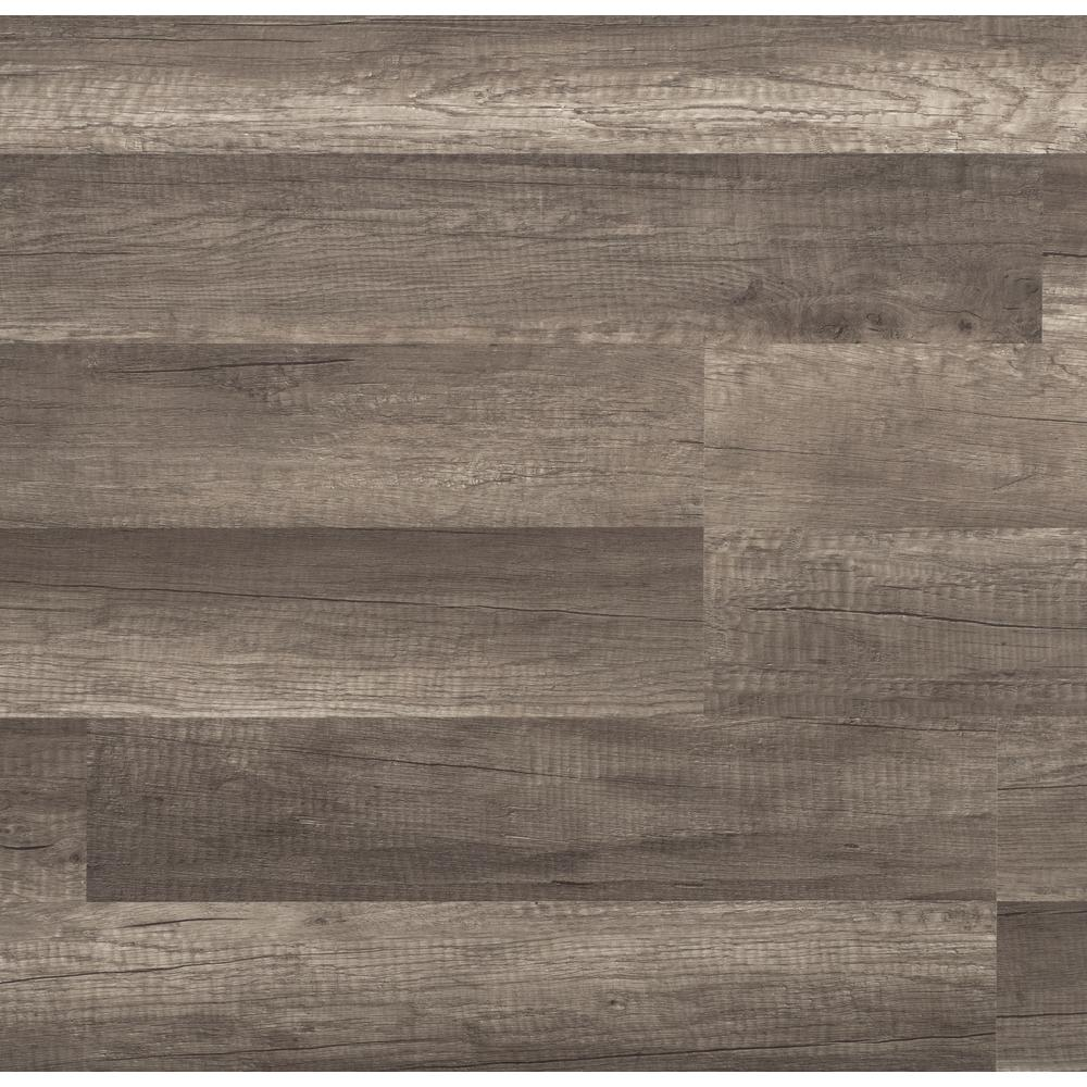 Trafficmaster Grey Oak 7 Mm Thick X 8 03 In Wide X 47 64 In Length Laminate Flooring 23 91 Sq Ft Case 360731 00375 The Home Depot Oak Laminate Flooring Laminate Flooring Oak Laminate