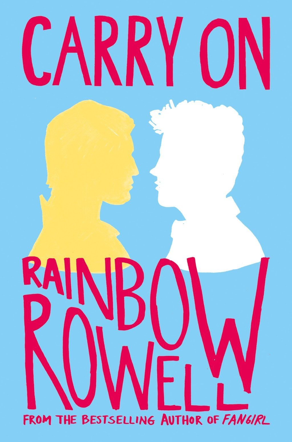 CoverReveal Carry On - Rainbow Rowell, UK