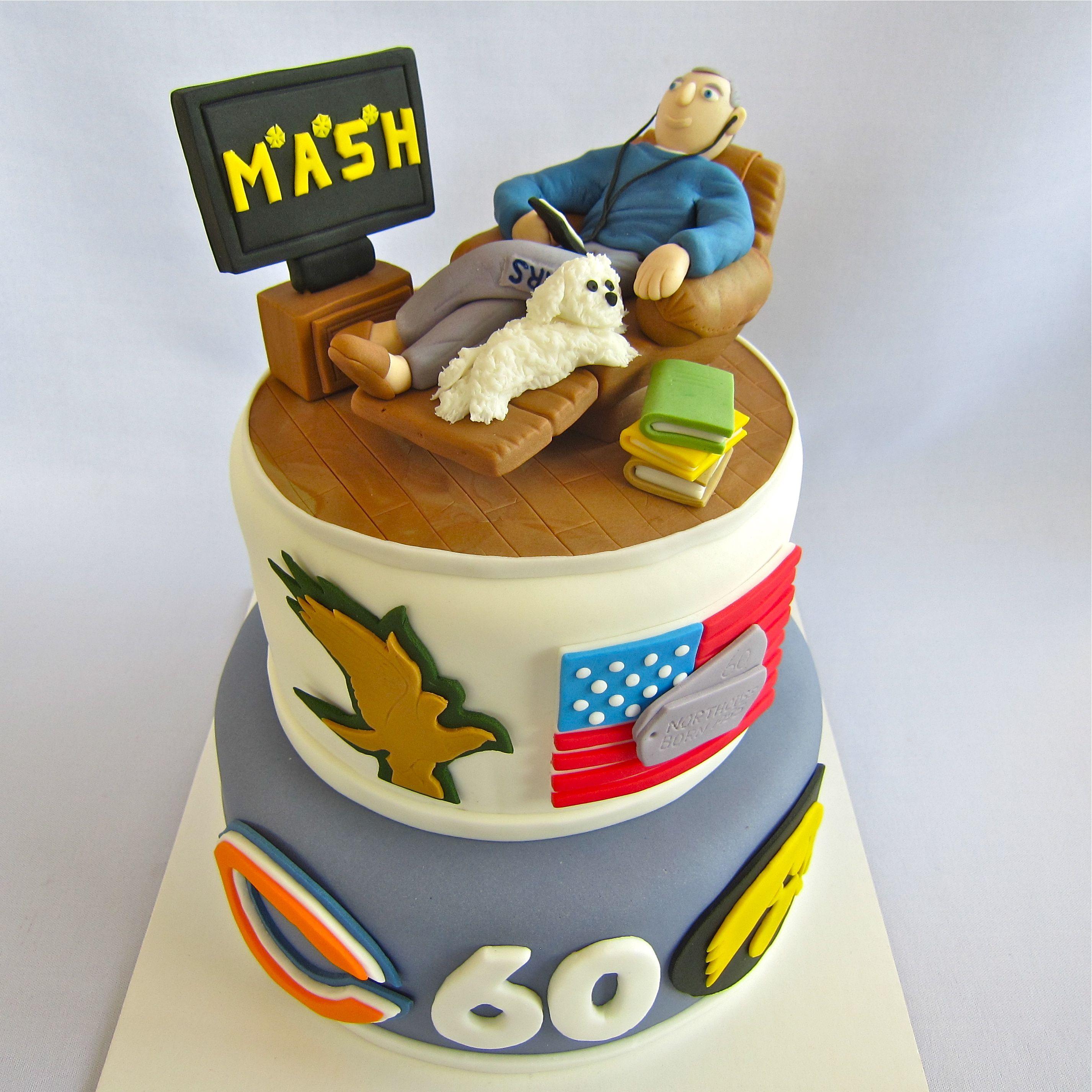 Personalized 60th Birthday Cake 60th birthday cakes