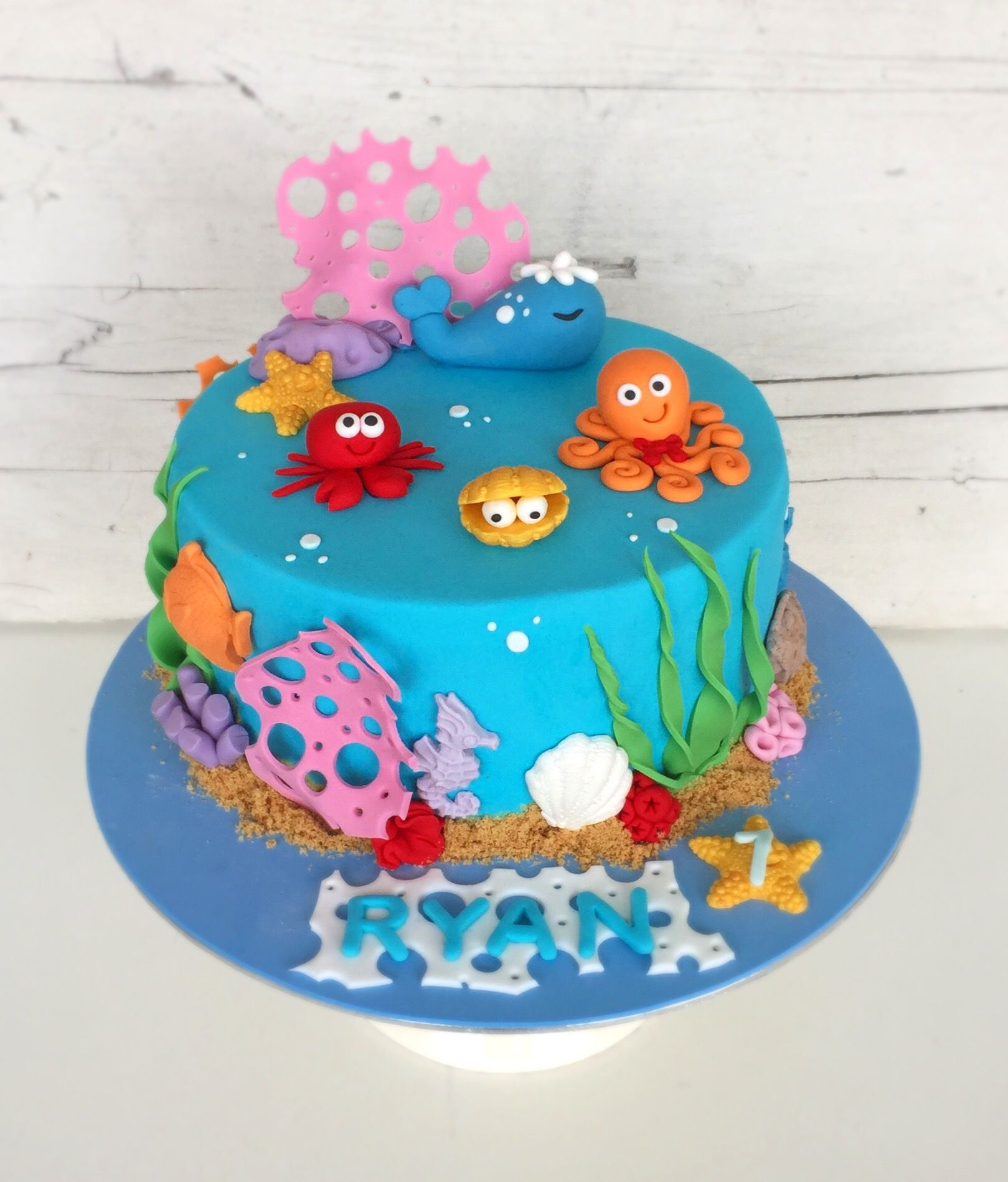 Under the sea cake in 2020