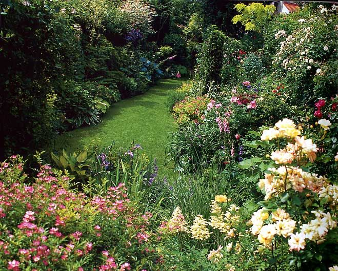Image gallery jardins anglais for Jardin anglais