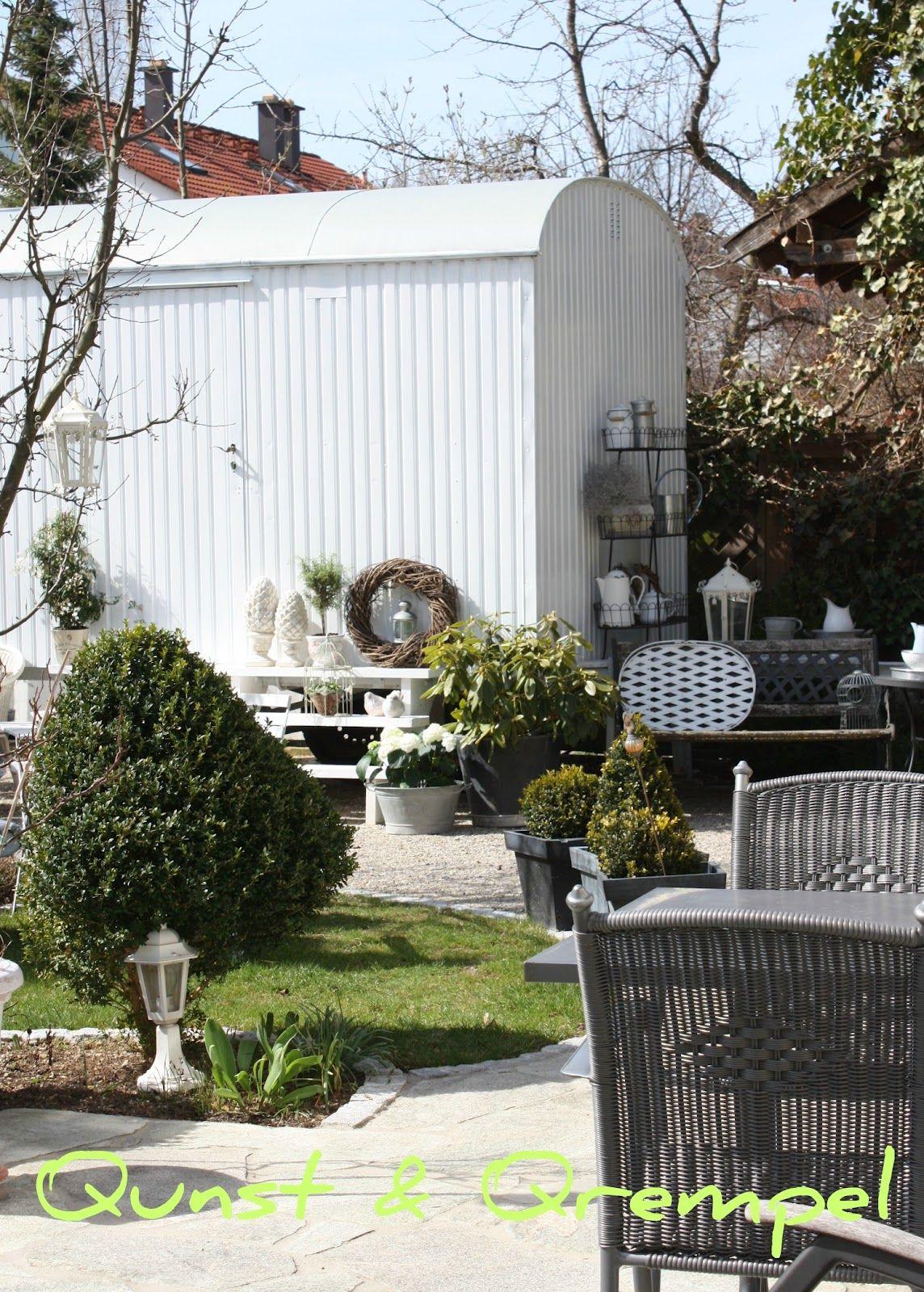 Qunst und qrempel bauwagen garten pinterest bauwagen bau und gartenhaus - Gartenhaus ausbauen ...