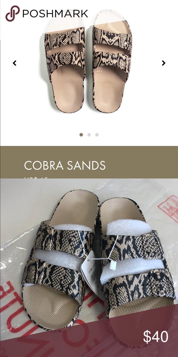 Freedom Moses Sandals Cobra Sands size