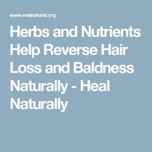 Androgenetic alopecia naturally reverse The 5