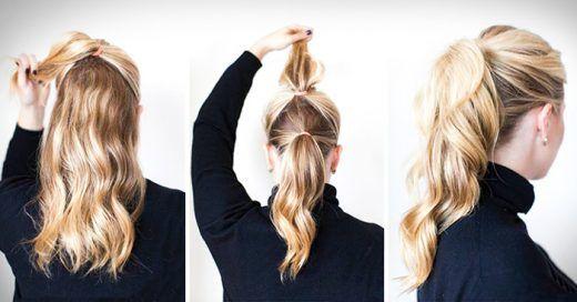 Resultado de imagen para peinados faciles PEINADOS Pinterest