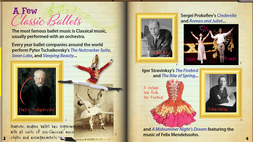 Travel to Quaver's Ballet Venue for a fun lesson in dance history and music!
