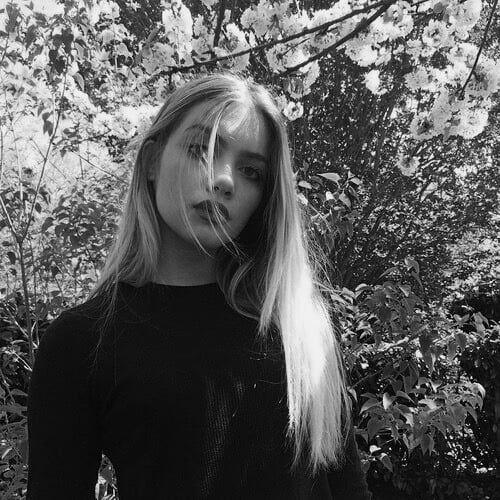 Blonde shared by G W EN. on We Heart It