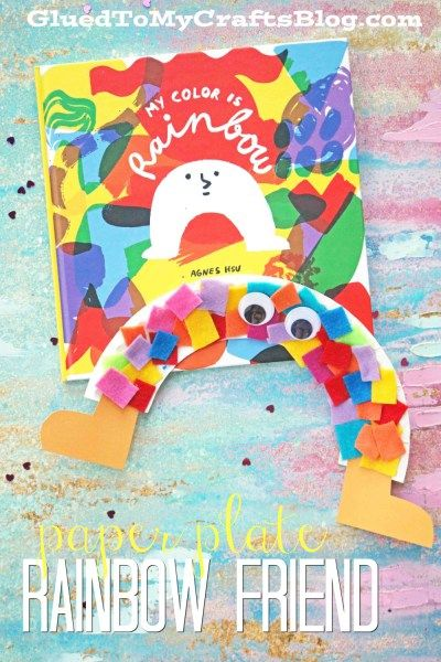 My Color Is Rainbow Kid Craft Rainbows Crafts and Activities