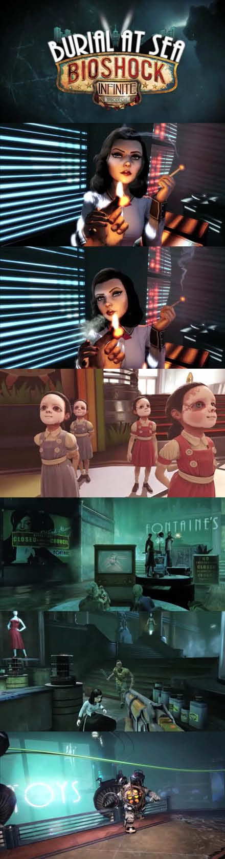 #BioshockInfinite #BurialatSea Episode One Discover a new story of Elizabeth…