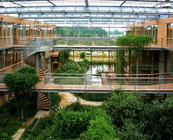 Awesome Green Architecture | Green Architecture Atrium Design | Green Architecture  House Ideas For .