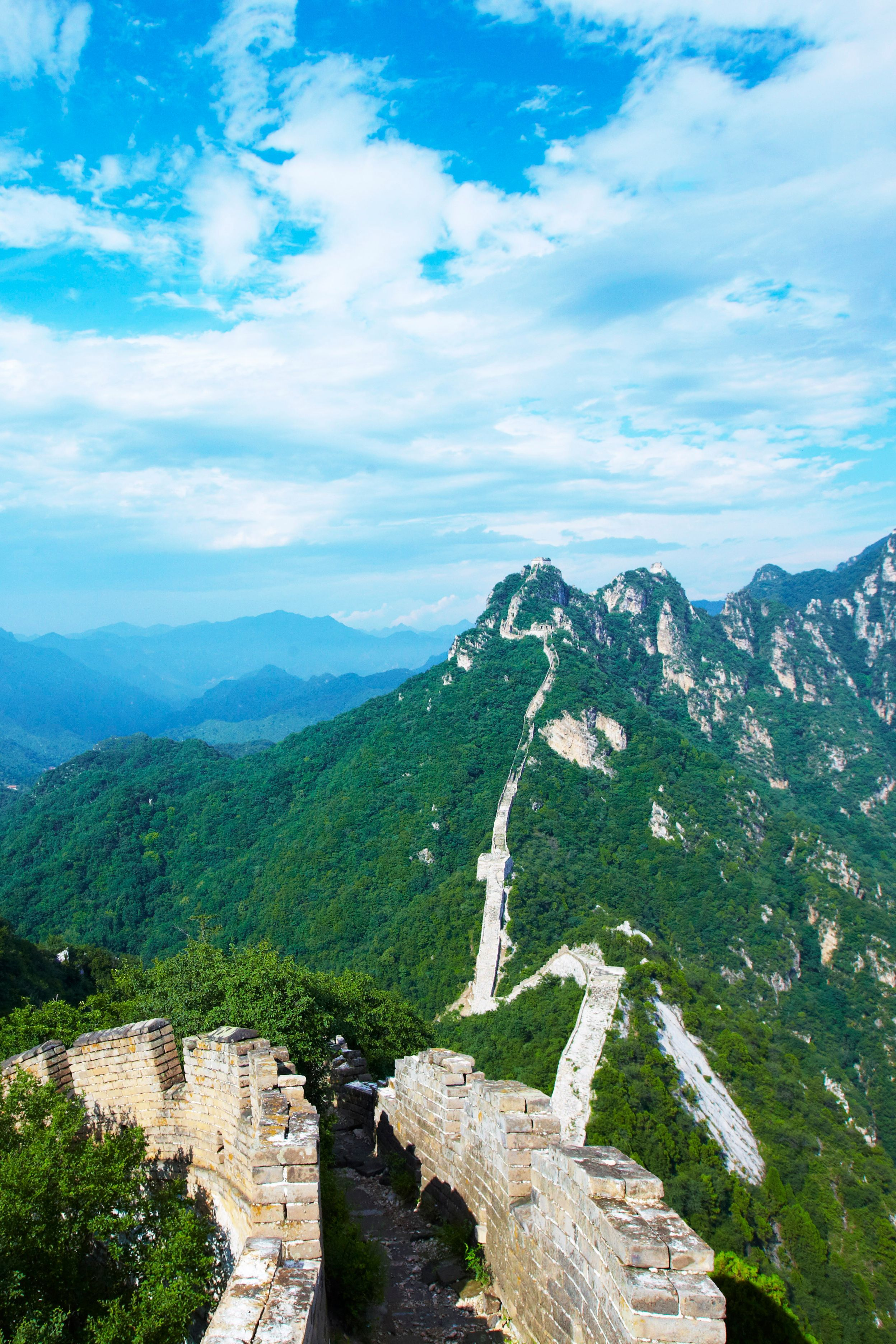 This Picture The Great Wall Of China As Shot By Mark Read China Greatwall Bucketlist