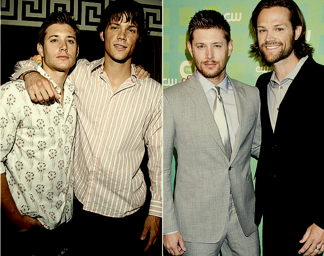 Aww. Season 1 and today! Their fashion sense has definitely improved over the years.