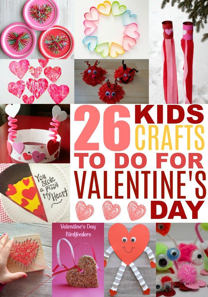 Valentines Day Crafts for Kids - Art and Craft Ideas for All Ages ...