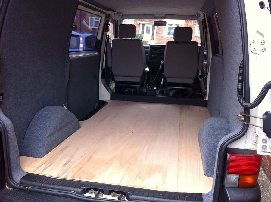 Van To Basic Camper Build