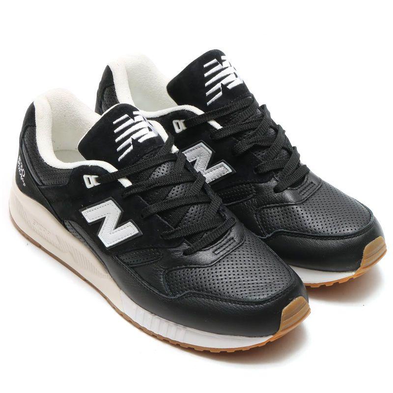04d87e115f NEW BALANCE 530 ATHLEISURE X Classic MENS Medium Width Leather Black NIB   NewBalance  Athletic