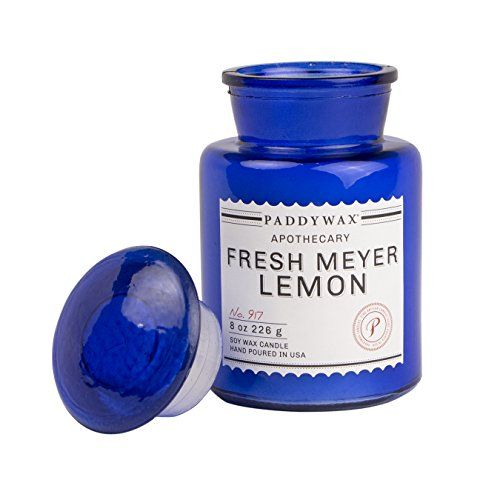 Paddywax Apothecary Collection Jar Candle Fresh Meyer Lemon 8 oz * Find out more about the great product at the image link.