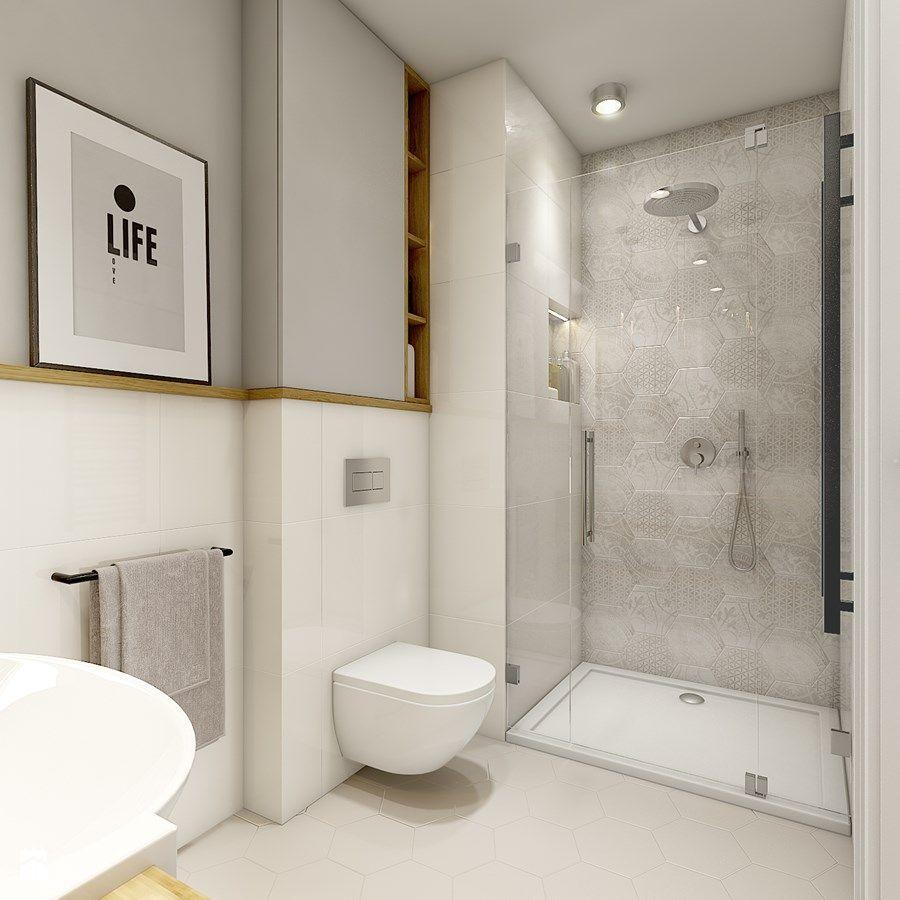 Azienka styl nowoczesny azienka zdj cie od werdhome for 5m2 bathroom design