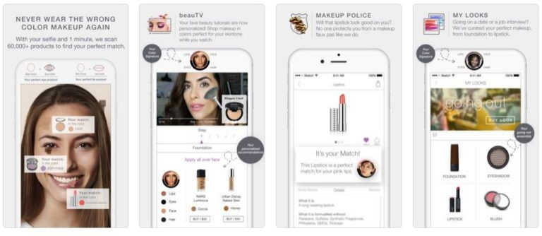 Best Makeup Apps and Beauty Apps | Best Beauty Apps for
